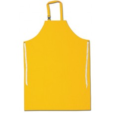 "RIV - 200S5 River City , Tough, .35mm PVC/Polyester, Yellow,35"" x 47"",  Apron with Sewn Edges,  $10.36 - Each"