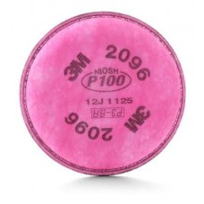 3M-2096 Particulate Filter P-100 Series Test Criteria,Versatile Protection Against Many Oil and Non-Oil Based Particulate Contaminates, Nuisance Odor Relief for Acid Gas Levels Below PEL,  Bayonet Compatibility,  $9.86 - 2 Per Bag$9.
