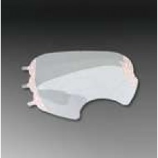 3M-6885 White, Full,  Face Shield  Lens Cover,  $49.76 - 25 Per Box