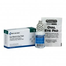 AUC - 7 - 009  Physician's Care/ First Aid Only,  5-Piece Eye Safety Set - 1 Oz. Eyewash Irrigation Bottle, Eye Pads & Adhesive Strips, 1 Set/Box.  - $3.26 each.