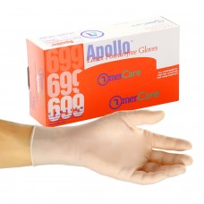 AC-699 Amercare Apollo Latex, Powder Free, Low Protein , Glove USDA Approved for Food Handling