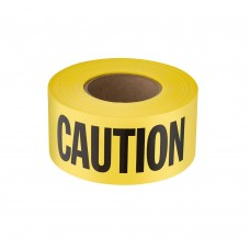 "AMG - 86501 Yellow Caution/Barricade Tape, Durable, Lead Free, Acid & Alkali Resistant, Reusable/Disposable, 3"" by 1,000' roll, 8 rolls/pack.  - $67.76 each."