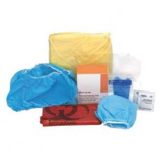 AUC - 21- 765  First Aid Only 7-Piece Blood Borne Pathogens (BBP) Protective Apparel Pack, Disposable, Convenient, Standalone,  Bio-Hazard Safety, First-Aid.  - $8.82 each.