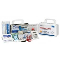 AUC - 90672 First Aid Only (25) Person Vehicle ANSI A+ Compliant First Aid Safety Kit, Durable, Weatherproof Metal Case, Wall/Flat Surface Mountable Case, 114 Pieces.  - $41.76 each.