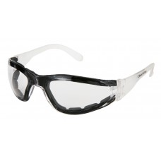 CRS - CL - 310 - AF Crews Checklite Clear Foam Safety Glasses, Anti-Fog, Closed Cell Non-Absorbent Foam Lining for Added Safety, Lightweight, Strong, Reliable, Impact Resistant.  - $35.52/dozen.