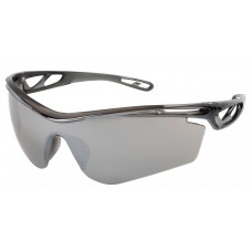 CRS - CL417 Crews Checklite CL4 Safety Glasses, Silver Mirror Duramass Anti-Scratch Coated Lens, Lightweight, Breathable, & Comfortable Frame, Earplug Retaining Technology.  - $30.72/dozen.