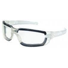 CRS - HK - 310 - PF Crews Hellkat Foam Safety Glasses w/ Clear Max6™ Anti-Fog Lens Coating, Foam Orbital Seal, Contoured Frameless Design, High Impact Resistant, Lightweight, Durable, & Comfortable.  - $6.26 each.