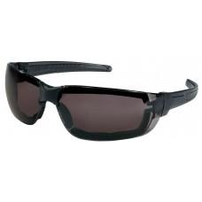 CRS - HK - 312 - PF Crews Hellkat Foam Safety Glasses w/ Gray Max6™ Anti-Fog Lens Coating, Foam Orbital Seal, High Impact Resistant, Thermal Plastic Rubber Nose Pad,  Lightweight, Durable, & Comfortable.  - $6.56 each.