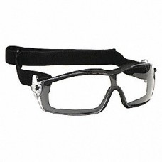 CRS - RT112 - AF Crews Rattler, Gray Anti-Fog Safety Goggle, Foam Seal, Polycarbonate Wrap-Around Lens, UV Ray Protection, Lightweight & Durable, Scratch-Resistant Lens.  - $7.76 each.