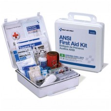 AUC - 90566 First Aid Only , 50 Person Bulk ,Plastic, First Aid Safety Kit, ANSI Class B Compliant, Wall/Flat Surface Mountable, Durable Weatherproof Case, Includes Tourniquet & Padded Splint.  -$33.76 each.