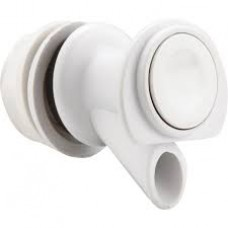 IGLOO - 24009  Standard Push Button Beverage Spigot for 2-10 Gallon IGLOO Water Coolers, White, Threaded, Angled,  Drip Resistant Valve, Leak Free Dispensing, Easy Installation, -$12.76 each