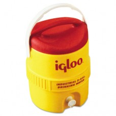IGLOO-421 -2  Gallon Yellow & Red Ultratherm Insulated Industrial Water Cooler with UV Stabilizer to Prevent Fading & Cracking in all Exposures