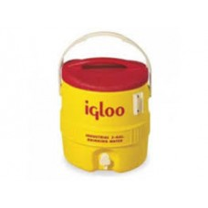IGLOO-431- 3  Gallon Yellow & Red Ultrathern Insulated Industrial Water Cooler with UV Stabilizers & Easy to clean, Stain Resistant FDA Grade White Liner, $35.76 - each