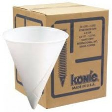 ORS - 398 - 4.5KR 4.25 Ounce Disposable Konie Paper Cups, Convenient, Packed 5,000/case.  - $69.76/case.