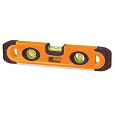 "KTC - SLPT 12M - Kraft Contractor's 9"" Plastic Magnetic Torpedo Level, Made in USA.  - $5.76 each."