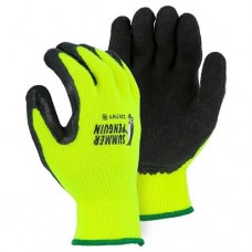 MAJ - 3397HY Majestic Summer Penguin Glove  with High Visibility & 10 Gauge Yellow Acrylic Knit Liner, $34.76 - Per Dozen