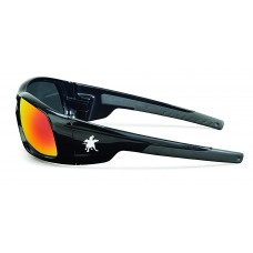 CRS-SR11R Swagger Fire Mirror Safety Glasses with  Duramass Scratch Resistant Lens Coating and Excellent Orbital Seal for Comfort & Long Term Wear, $81.12 - per dozen.