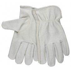 MEM - 3313 M.C.R. Top Grain Buffalo Hide Leather Drivers Glove with Excellent Abrasion Resistance & Shirred Elastic Back. $46.76 - Per Dozen