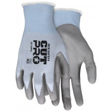 MEM - 92718PU Memphis Cut Pro™ 18 Gauge, Hypermax™ Polyurethane Shell Coated Gloves, Light Blue, Lightweight & Comfortable, Excellent Dexterity, Cut Protection, 12 pair/pack.  - $46.52 each.