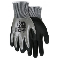MEM - 92783 L - Memphis Cut Pro Hand Protection, 13 Gauge Salt & Pepper Fully Coated Hypermax Shell, Cut & Abrasion Resistant, Coated Palm & Fingers, $93.76 - Per Dozen