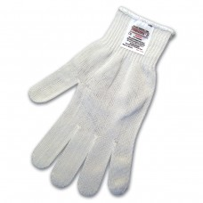 MEM - 9356 S - M. C. R. 10 Gauge Medium Weight Glove,  Stainless Steel Polyester Wrapped, Cut Resistant, Launder with No Shrinkage, FDA Accepted Material for Food Processing, ANSI Cut A/6,  $8.76 Per Pair