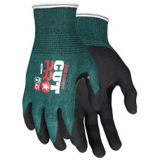 MEM-96782 L - M. C. R.  Cut Pro Protection, 18 Gauge Green Hypermax Shell, Nitrile Palm Coating, Reinforced Thumb Crotch, Lightweight, Comfortable & Excellent Dexterity,  $7.36 - Per Pair