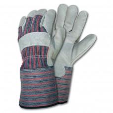 MEM - 1310  Select Shoulder Leather Palm, Excellent Hand Protection, Rubberized Safety Cuff, Shirred Elastic Back, Fleece Lined Gauntlet,,  $34.76 - Per Dozen