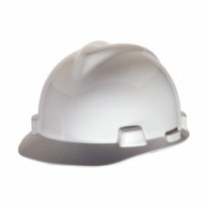 MSA - 477482 V-Gard Cap Style Hard Hat w/ Ratchet, Fas-Trac Suspension, Size Large, Fits Large Heads.  -$22.76 each.