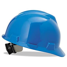 MSA-475359 V-Gard Blue Cap Style Hard Hat with Ratchet,  $14.76 - Each