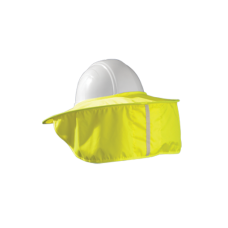 "OCCU - 899 - HVYS Hard Hat  Cotton Shade Stow Away, HI-VIZ,  Breathable, Durable. Facilitates Perspiration Evaporation, 6"" Circular Self Pouch  -$10.76 each."