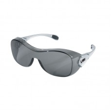 CRS-OG 112AF  Crews Stylish, Sensible, Anti-Fog, Oversized,  Law Over the Glass Safety Glasses with Exclusive Duramass Scratch Resistsant Lens Coating and 5 Position Ratrchet Action Temple, $47.60 - per dozen