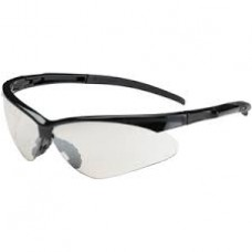 PIP - 250 - 28 - 000 Protective Industrial Products - Adversary Safety Glasses, Black Frame, Clear Lens, Anti-Scratch Lens, Lightweight.  - $3.76 each.