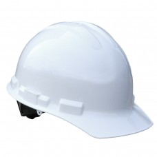 RAD - GHR4 - W  Radians High Density Polyethylene,  Granite Cap Style Hard Hat with Pillowed Brow Pad & Quick Ratchet Adjustment System,  $9.76 - Each
