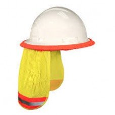 RAD - NSG  Radians Universal,  Hi-Vis Green, Self Extinguishing, Treated 100% Polyester, Mesh,Neck Shade,  $5.76 - Each