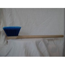 "VB - 415LT - 20 Blue 20"" Utility Vehicle Wash Brush, Medium-Soft, Thick, & Dense Fibers, 175°F Heat Distortion, Resistant to Acids, Alcohols, & Water-based Solutions, Great for Auto Washing/Detailing.  - $9.98 each."