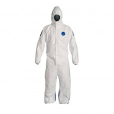 MAL -1428- Dupont Tyvek Lightweight, Comfortable, Dual Hooded Coveralls with Zipper Closure are Abrasion & Tear Resistant,  $149.76 - 25 Per Case