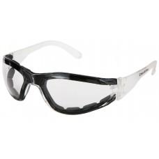 CRS- HK 310 PF Crews  HellKat 310  Lightweight, Contoured, Frameless Design Safety Glasses with Premium Anti-Fog Lens Coating , Excellent Orbital Seal for Eye Protection & Closed Foam Lining,  $
