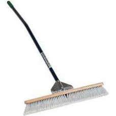 """SEY - MID - 82906 Seymour-Midwest 36"""" Duo Broom with Super Strong Gusset Bracing, 60"""" Ergonomic Powder Coated Aluminum Handle & 3"""" Durable Bristles"""